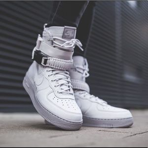 Nike SF Air Force 1 AF1 vast grey new 9.5